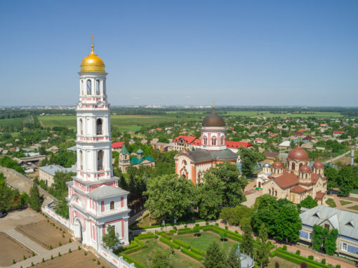 Holy Ascension Novo-Nyametsky Monastery