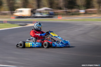 The renewed karting track of Grigoriopol hosted the first stage of the Moldavian carting championship