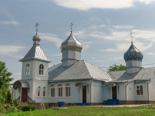 Church of the Intercession of the Blessed Virgin in the village of Malaiesti